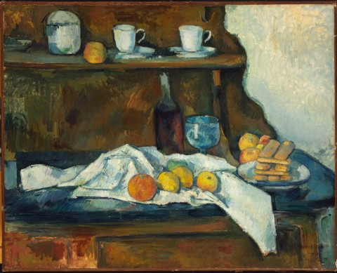 Paul Cézanne, Il Buffet, 1877-79 - ©Museum of Fine Arts, Budapest 2015