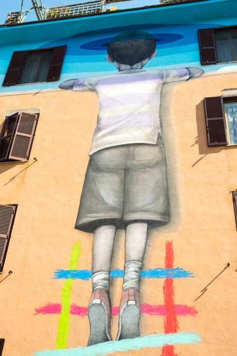Seth, Il bambino redentore, Roma 2015 - photo Giorgio Benni - courtesy 999