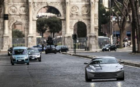 Spectre, l'ultimo film della saga di James Bond, girato a Roma