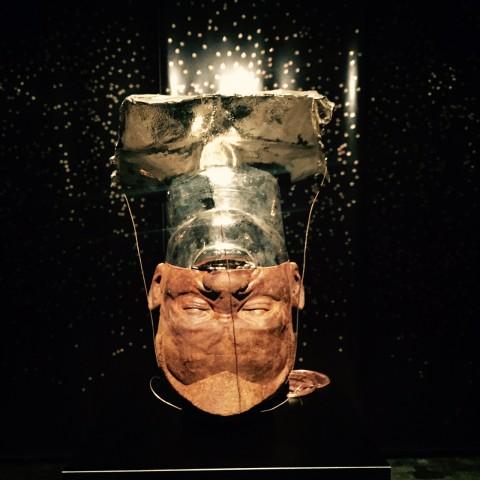 Steven Claydon – Analogues, Methods, Monsters, Machines - veduta della mostra presso il CAC, Ginevra 2015
