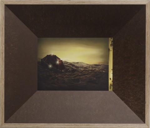 Steven Claydon, Picture Element Kernel Eye, 2012 - Courtesy l'artista & Sadie Coles HQ, Londra