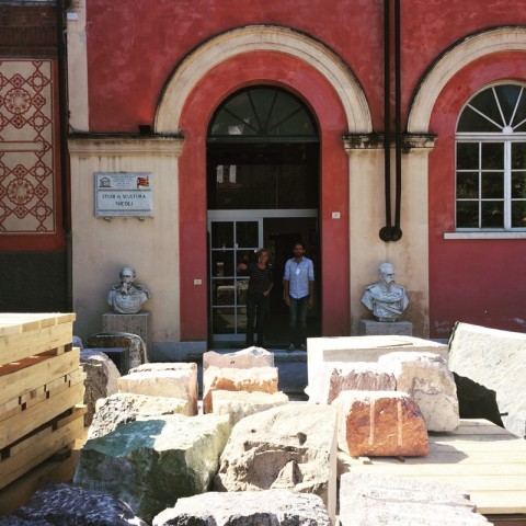 Studi Nicoli, Carrara - photo Petra Cason
