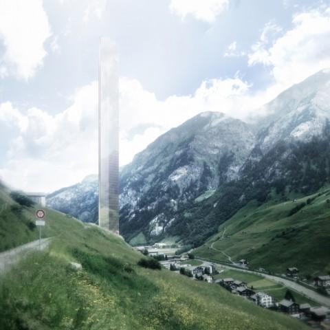 Thom Mayne, 7132, Vals - courtesy of Morphosis Architects