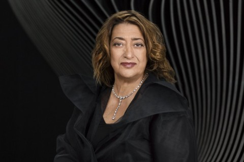 Zaha Hadid - photo Mary McCartney