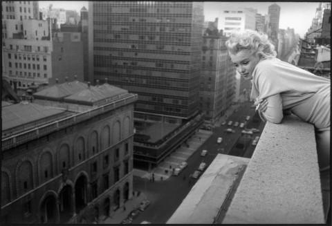 Marilyn Monroe, New York, 1955. Photo: Feingersh.
