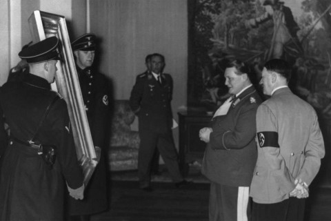 Adolf Hitler ed Hermann Göring