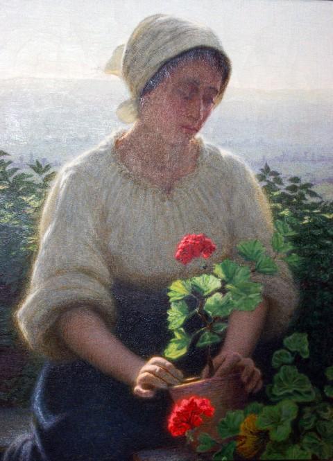 Angelo Morbelli, Giardiniera, 1906-08