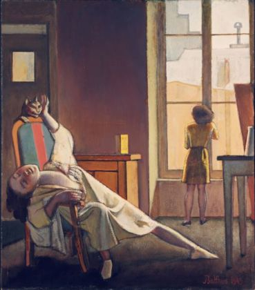 Balthus, La Semaine des quatre jeudis, 1949 - Poughkeepsie, Frances Lehman Loeb Art Center, Vassar College - © Balthus Poughkeepsie, The Frances Lehman Loeb Art Center - Vassar College