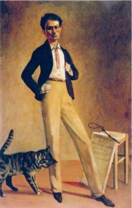 Balthus, Le Roi des chats, 1935. Musée cantonal des Beaux-Arts, Losanna. Photo Etienne Malapert, Musée cantonal des Beaux-Arts de Lausanne © Balthus