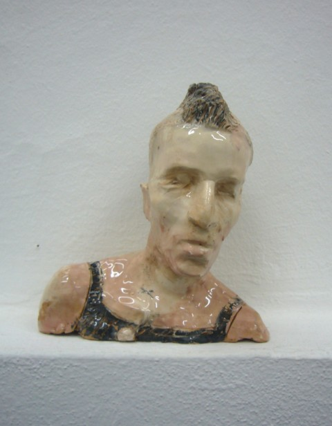 Cristiano De Gaetano, Untitled, 2011 - ceramica, 15x6,5x15 cm