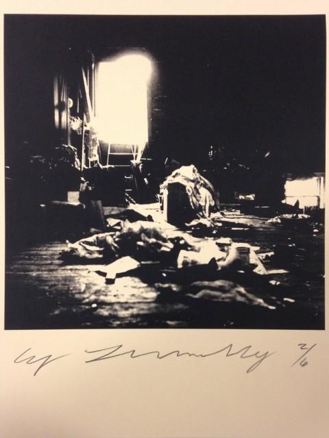 Cy Twombly, Robert Rauschenberg combine material Fulton St. Studio, 1954 – courtesy Fondazione Nicola Del Roscio