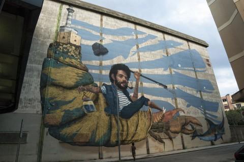 Distrart, Messina - Anc & Poki - photo Elena Bonaccorsi