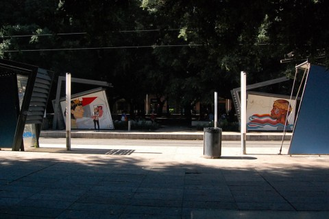 Distrart, Messina - Manuela Caruso in arte MaCa - photo Elena Bonaccorsi