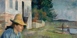 Edvard Munch, Evening, 1888 - Museo Thyssen-Bornmisza, Madrid - photo Munch Museum