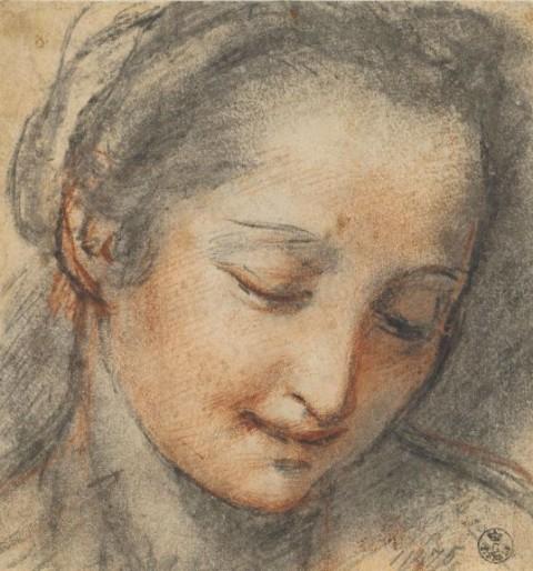 Federico Barocci, Testa di donna, Firenze, Gabinetto Disegni e Stampe degli Uffizi
