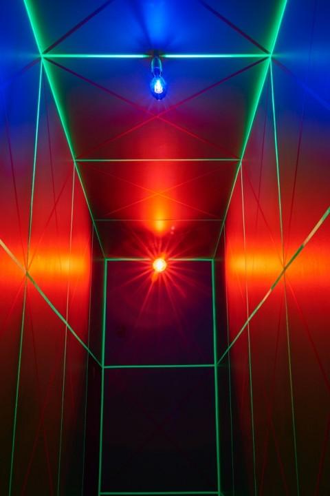 Gianni Colombo – The body and the space - veduta della mostra presso la Galleria Robilant + Voena, Londra 2015