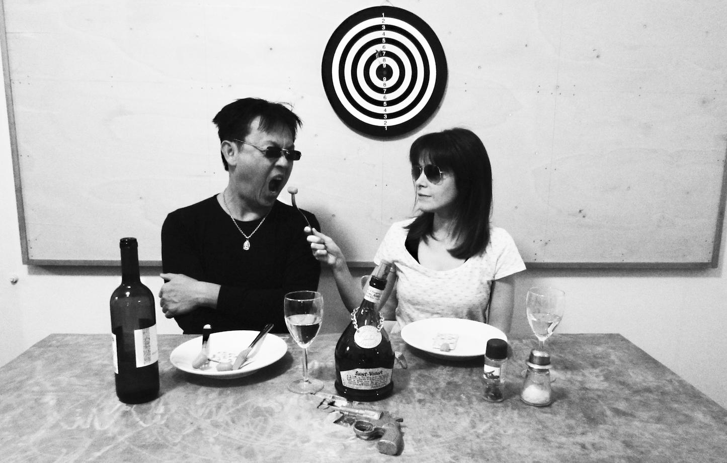 HH. Lim e Viviana Guadagno, copertina della mostra presso Zoo Zone Art Forum, Roma 2015