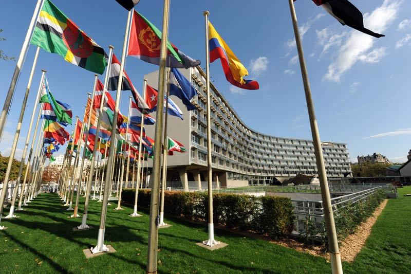 Il quartier generale dell'Unesco, Parigi