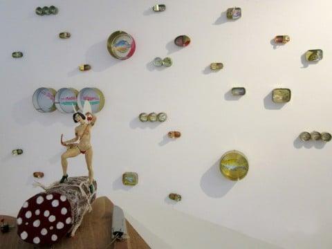 In Contemporanea - RezArte Contemporanea, The Art of Food Valley, veduta allestimento, Corrado Bonomi