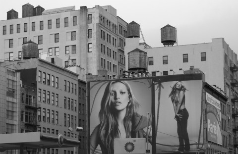 Kate Moss a Milano