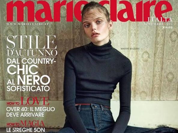 La copertina incriminata di Marie-Claire