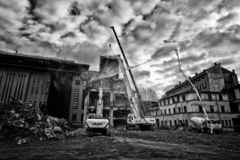 La nuova sede dell'ADI a Milano - prima della ristrutturazione - photo Paolo Demaldè