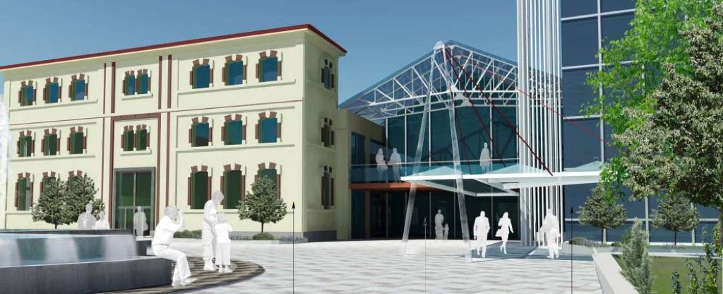La nuova sede dell'ADI a Milano - rendering - progetto Studio Migliore, Servetto e Lupi