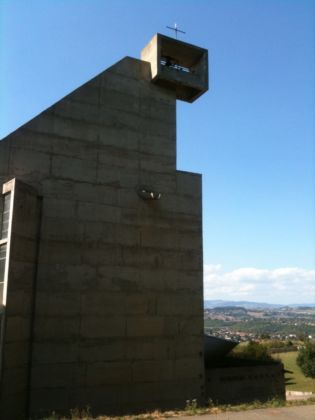 Le Corbusier, Couvent de la Tourette - campanile - photo Claudia Zanfi