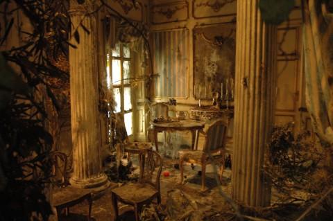 Manfredi Beninati, un dettaglio dell'installazione alla Biennale di Venezia del 2005