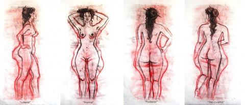 Marcia Salas, Lateral, Frontal, Posterior, Tres cuartos, 2002