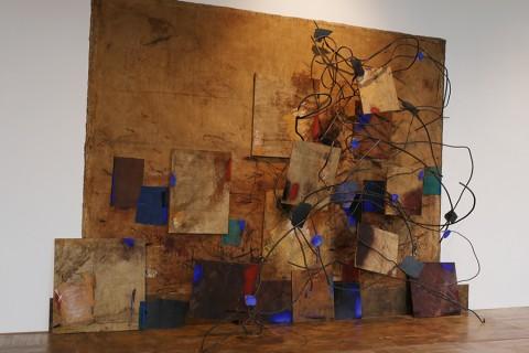 Marco Gastini, La mano aperta della pittura, 2000-01 - Collezione dell'artista - photo Eleonora Milner