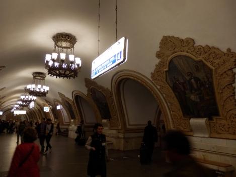 Metropolitana di Mosca, settembre 2015- photo Luca Arnaudo