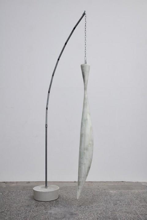 Michael Sailstorfer, Trockenfisch, 2009