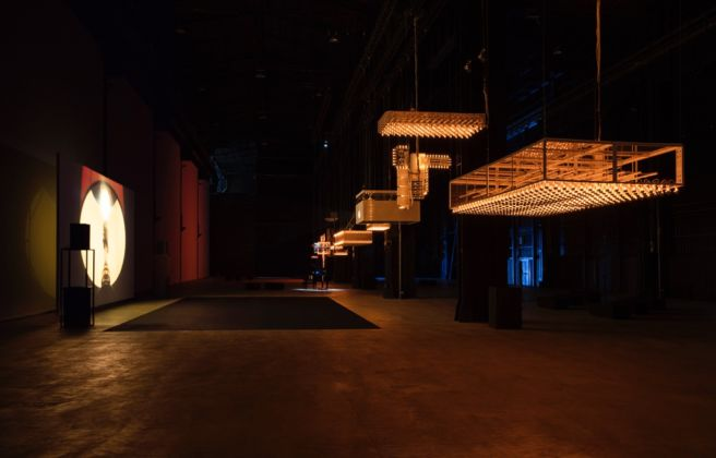 Philippe Parreno - Hypothesis - veduta della mostra presso HangarBicocca, Milano 2015 - Courtesy of the Artist; Pilar Corrias Gallery; Gladstone Gallery; Esther Schipper; Fondazione HangarBicocca, Milano - photo © Andrea Rossetti