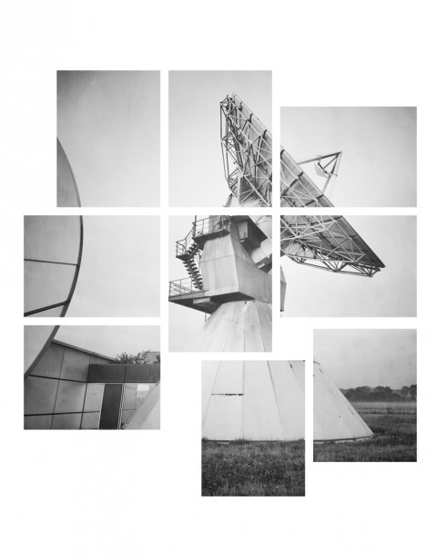 Raphaël Dallaporta, Reliques Avant-Gardes, 2014 - installazione fotografica prodotta in collaborazione con l'Observatoire de l'Espace du Cnes