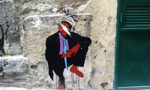 Roxy in the Box, Chatting, 2015 - Basquiat vandalizzato