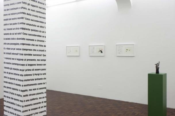 So much more than the sum of its tropes - veduta della mostra presso la Galleria Norma Mangione, Torino 2015