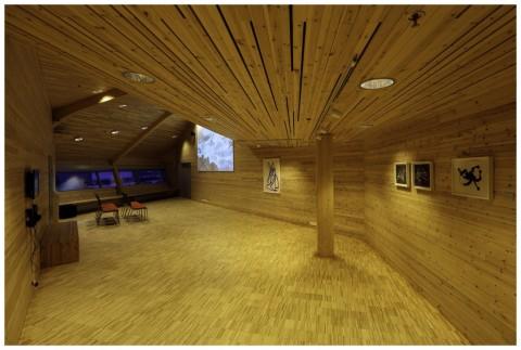 Studio Jarmund-Vigsnæs, Kunsthall Svalbard - photo Yngve Olsen Sëbbe