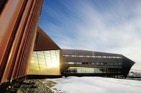 Studio Jarmund-Vigsnæs, Science Center, Longyearbyen - photo Statsbygg
