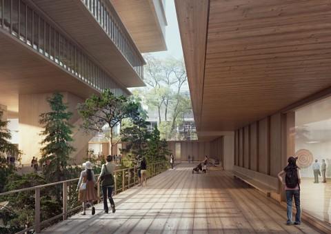 View of the new Vancouver Art Gallery © Herzog & de Meuron