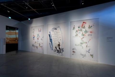 Yervant Gianikian & Angela Ricci Lucchi – L'archive comme oeuvre, l'oeuvre comme archive - veduta della mostra presso il Centre Pompidou, Parigi 2015 - photo © Hervé Véronèse