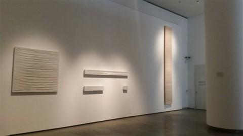 Yves Klein, Sidival Fila, Tito - veduta della mostra presso il Museo Bilotti, Roma 2015