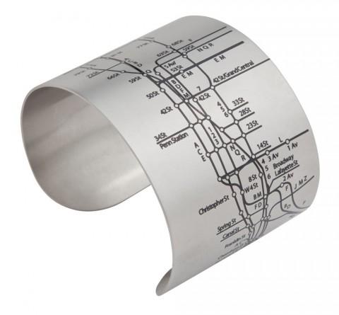 designhype, City Map Cuff Bracelets