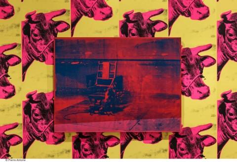 Andy Warhol, Electric Chair – allestimento al Musée d'Art moderne de la Ville de Paris, 2015 – © The Andy Warhol Foundation for the Visual Arts, Inc. - ADAGP, Paris 2015 – photo © Pierre Antoine