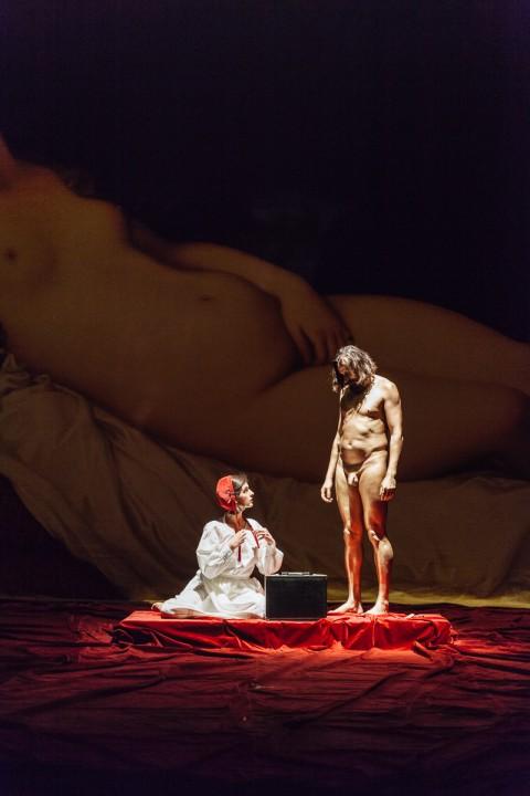 Angelica Liddell, Prima Lettera di San Paolo ai Corinzi - photo Francesco Dalla Pozza:Colorfoto Artigiana