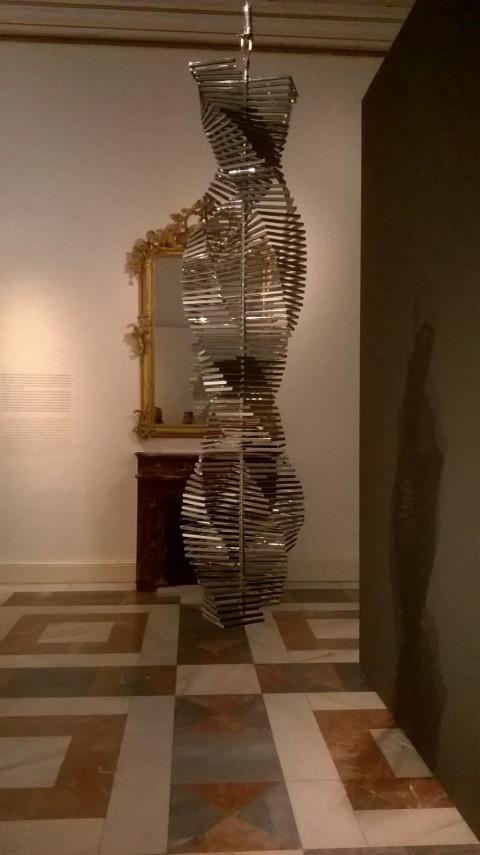Arte contemporáneo en palacio - veduta della mostra presso Palazzo Reale, Madrid 2015