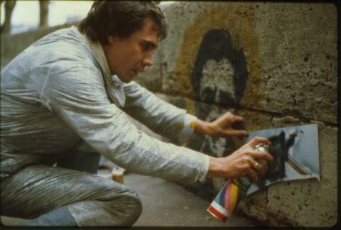 Blek le Rat - Paris, '80s