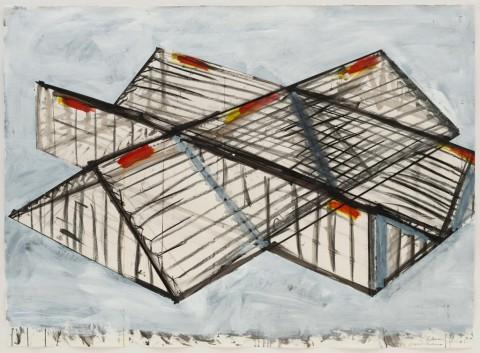 Bruce Nauman, Crossed Stadiums. 1984 - The Museum of Modern Art, New York - © 2015 Bruce Nauman - Artists Rights Society (ARS), New York