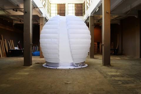 Eva Frapiccini, Dreams' Time Capsule, 2011 - Teatro della Townhouse Gallery, Il Cairo