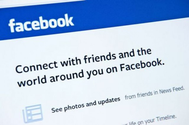 Facebook e la sua pagina d'apertura per chi non è iscritto